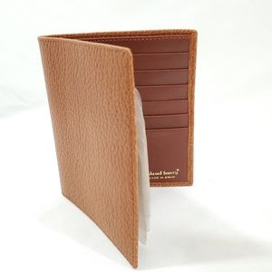 Edward Harvey Mens Brown Leather Pebble Bifold Exe